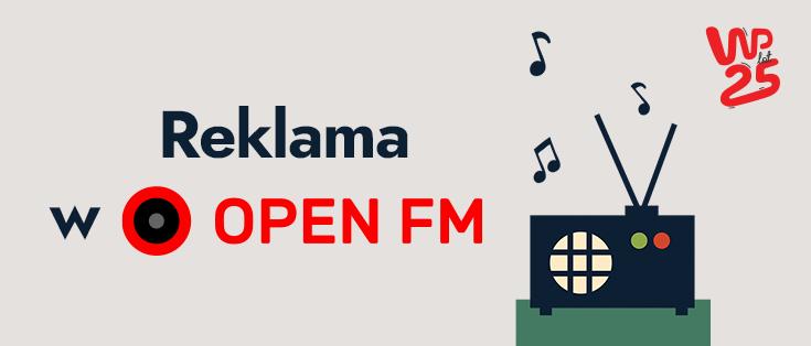 Reklama w OPEN FM