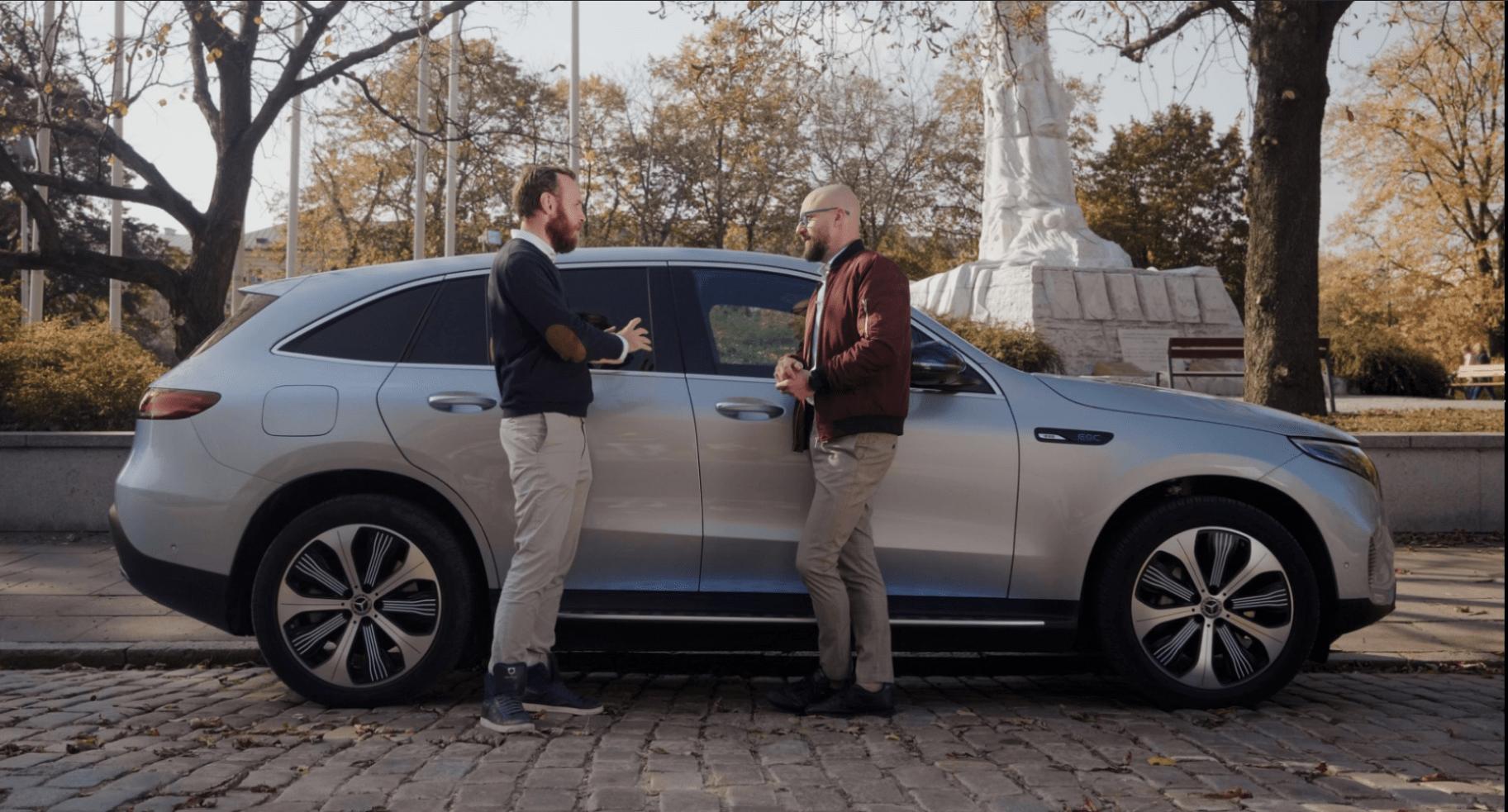 WP i Mercedes-Benz z cyklem wideo o samochodach elektrycznych