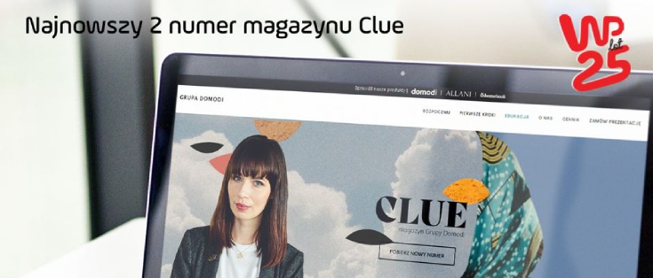 Najnowszy numer magazynu Clue z artykułem Dominiki Olszyny
