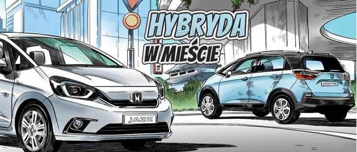 Hybryda w mieście. Serwis specjalny WP dla marki Honda